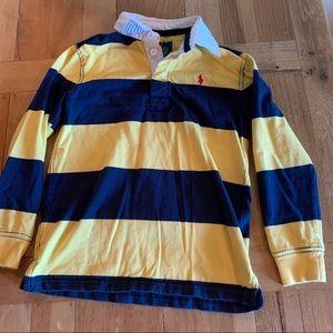 Boys Ralph Lauren Long Sleeve Polo Striped